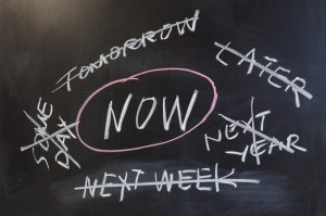 Chalk drawing - Do it now